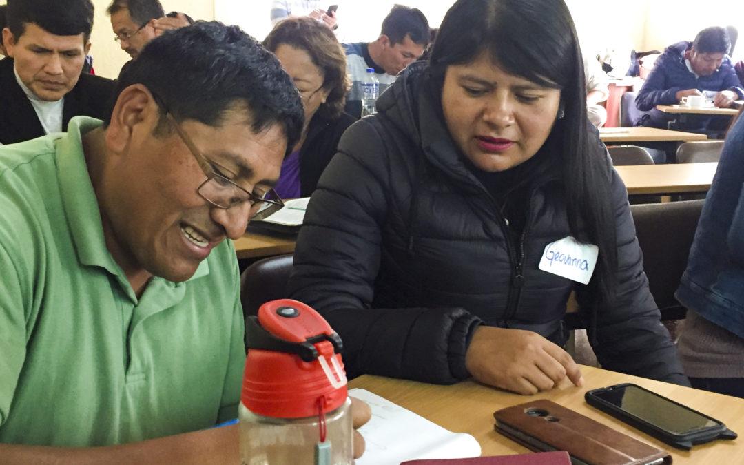 Entrenamiento exitoso de PIC en el Perú